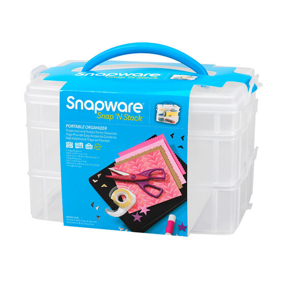 Snapware Snap 'N Stack Organizer - 3 layer - 6 x 9inch