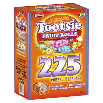 Tootsie Fruit Rolls - 225's