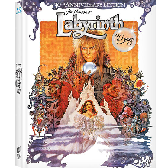 Labyrinth: 30th Anniversary Edition - Blu-ray