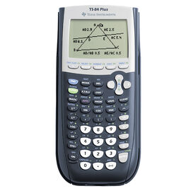 Texas Instruments 84 Plus Graphing Calculator - TI84+