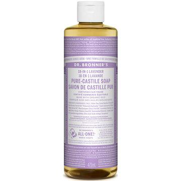 Dr. Bronner's Liquid Pure-Castile Soap - Lavender - 473ml