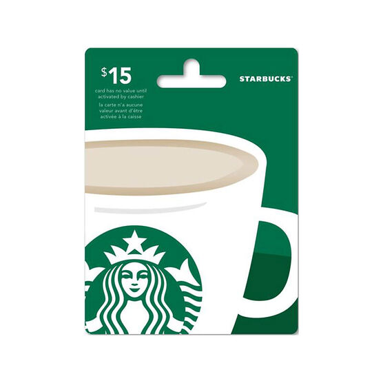 Starbucks Gift Card - $15