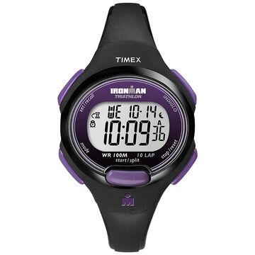 Timex Ironman Watch - Black/Purple - T5K523GP