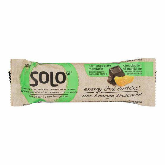 SoLo GI Energy Bar - Dark Chocolate Mandarin - 50g