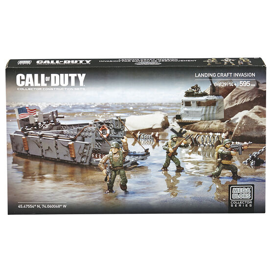 Mega Bloks Call of Duty Landing Craft Invasion
