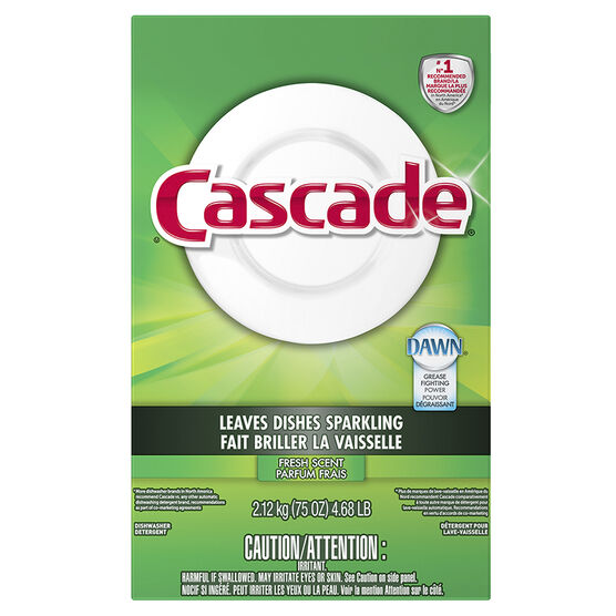 Cascade Dishwashing Powder - Fresh Scent - 2.12kg