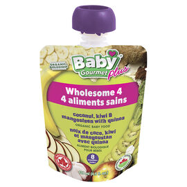 Baby Gourmet Baby Food -  Coconut Kiwi & Mangosteen - 128 ml