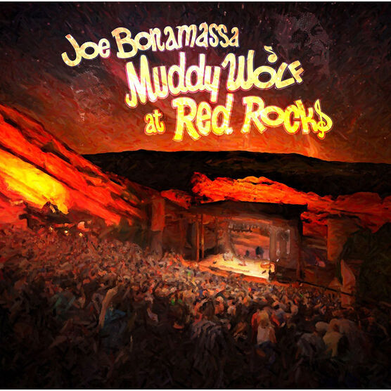 Joe Bonamassa - Muddy Wolf at Red Rocks - 2 CD