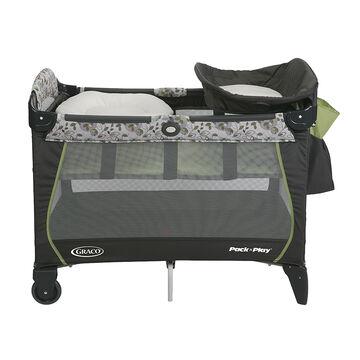 Graco Pack n Play with Newborn Napper - Caraway - Slate/Green