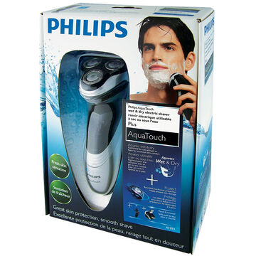 Philips Aquatouch Shaver - Black/Grey - AT893/20