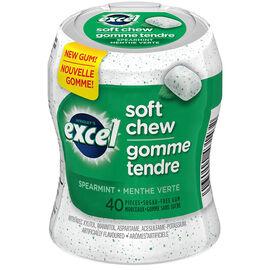 Excel Soft Chew Gum - Spearmint - 40 piece
