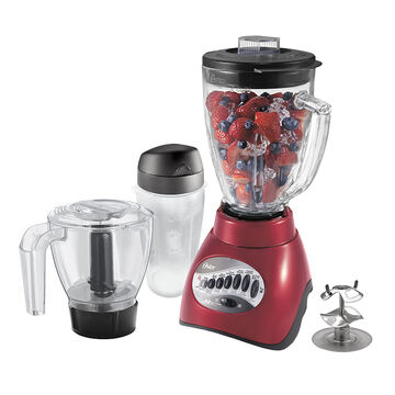 Oster Blender with Attachments - Red - 6844-B33