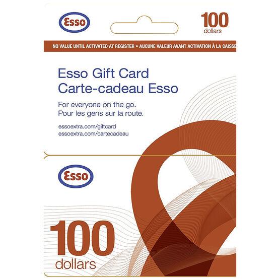 Esso Gift Card - $100