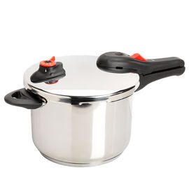 London Drugs Pressure Cooker - Stainless Steel - 6L