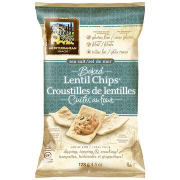 Lentil Chips - Sea Salt - 128g