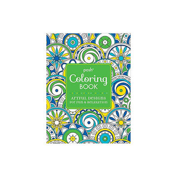 Posh Coloring Book - Artful Designs