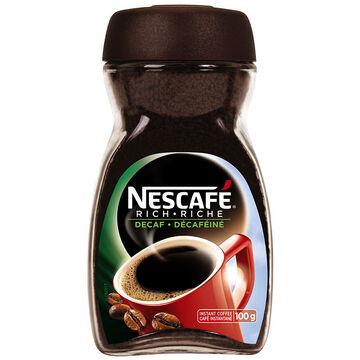 Nescafe Rich Instant Coffee - Decaffeinated - 100g