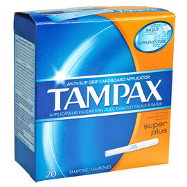 Tampax Tampons Super Plus - 20's