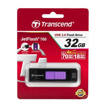 Transcend 32GB V760 USB 3.0 JetFlash Drive - TS32GJF760