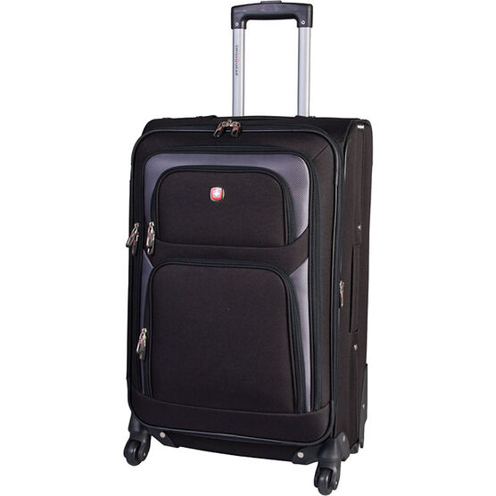 "SwissGear 24"" Upright Expandable Luggage - Black"