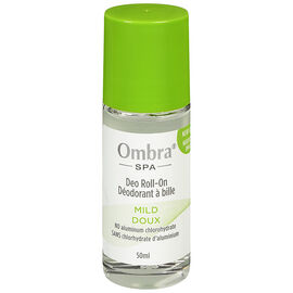Ombra Spa Deodorant Roll On - Mild - 50ml