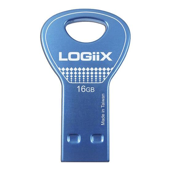 Logiix MyKey Mini 16GB USB 2.0 - Blue - LGX-11775