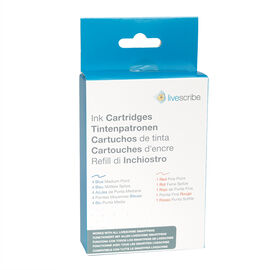 Livescribe Refill Ink Cartridges - Blue/Red - ARA-00007