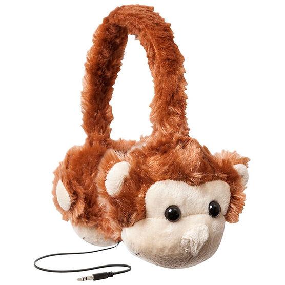 ReTrak Animalz Headphones - Monkey - ETAUDFMNKY