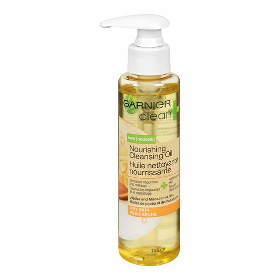 Garnier Clean+ Nourishing Cleansing Oil - 125ml