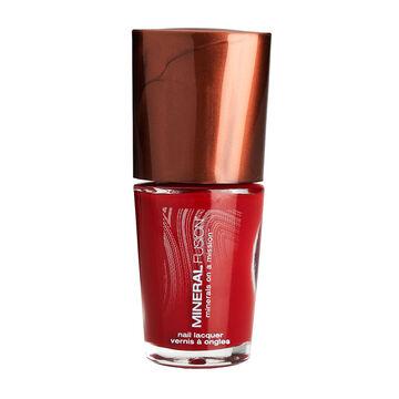 Mineral Fusion Nail Polish - Crimson Clay