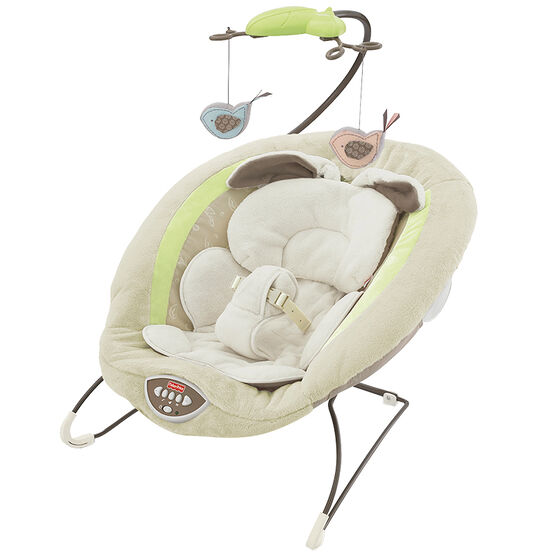 Fisher Price Snugabunny Deluxe Bouncer