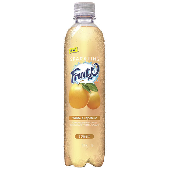Fruit 2 O Sparkling Tea - Orange Mango - 502ml
