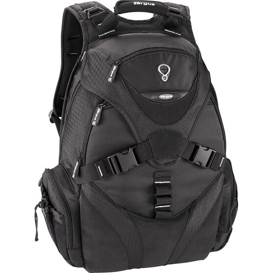 "Targus 17"" Voyager Laptop Backpack - Black - TSB045CA"