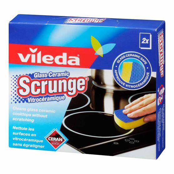 Vileda Certified Ceran Scourer Glass Ceramic Scrunge - 2 pack