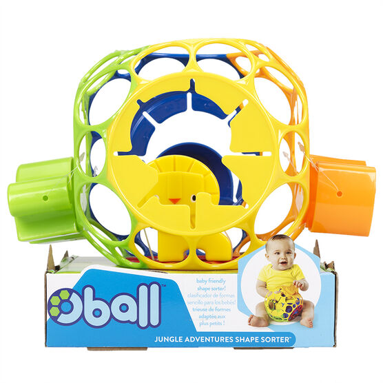 Oball Jungle Adventures Shape Sorter - 10064