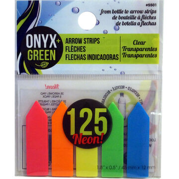 Onyx Green Arrow Strips - 125 arrows