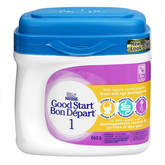 Nestle Good Start Omega 3 & 6 with GOS Infant Formula - 660g