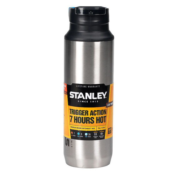 Stanley Mountain Vacuum Switchback Mug - Stainless Steel - 16oz