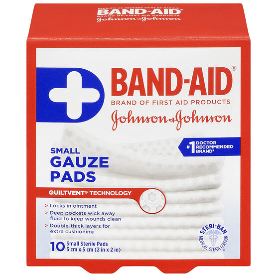 Johnson & Johnson Band-Aid Gauze Pad - 5 x 5cm
