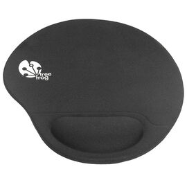 Tree Frog Memory Foam Wrist Rest Mouse Pad - Black - KLH3006FB