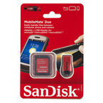 SanDisk MobileMate Duo Adapter and Reader - SDDRK-121-A46