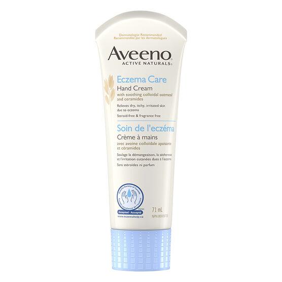 Aveeno Active Natural Eczema Care Hand Cream - 71ml