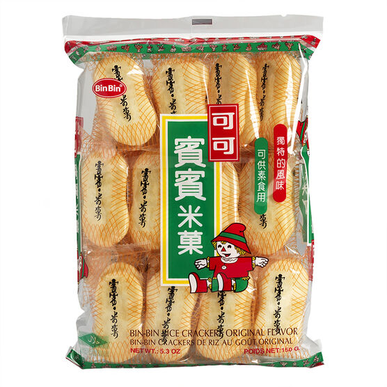 Bin Bin Rice Crackers - Original - 150g
