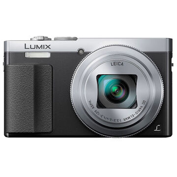 Panasonic LUMIX DMC-ZS50 30x Travel Zoom Camera - Silver - DMC-ZS50S