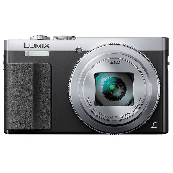 Panasonic LUMIX DMC-ZS50 30x Travel Zoom Camera - Silver - DMC-ZS50S