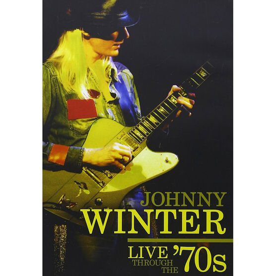 Johnny Winter: Live Through the '70s - DVD