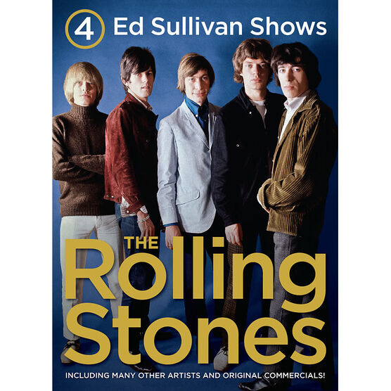 The Rolling Stones - 4 Ed Sullivan Shows Starring The Rolling Stones - DVD