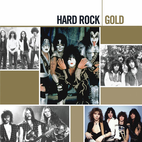 Various Artists - Hard Rock Gold - CD