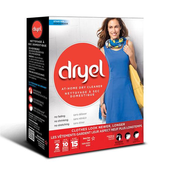 Dryel At-Home Dry Cleaner Starter Kit - 2 uses | London Drugs