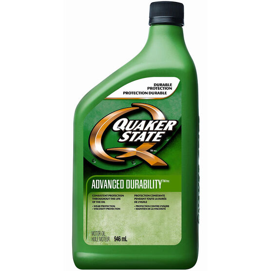 Quaker State 5W-30 Advanced Durability Motor Oil - 946ml